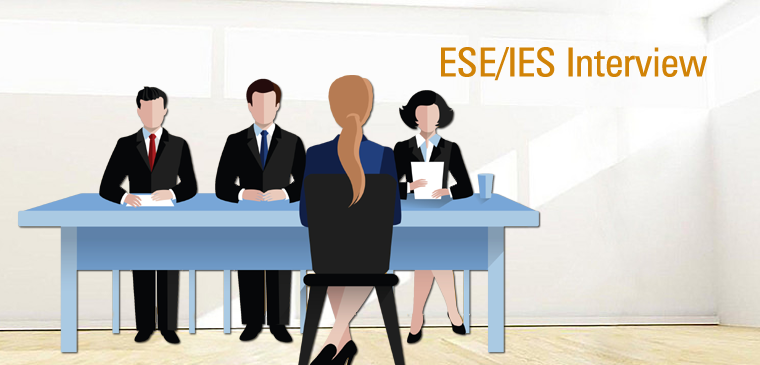 Strategy for Facing ESE/IES interview