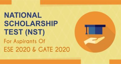 NATIONAL SCHOLARSHIP TEST (NST) FOR ASPIRANTS OF ESE 2020 AND GATE 2020