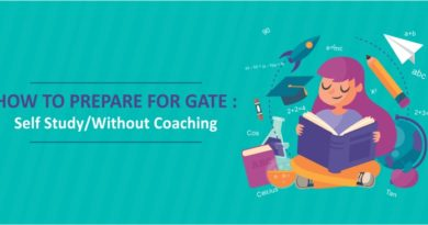 GATE 2019- SELF STUDY/WITHOUT COACHING