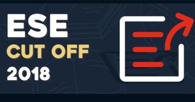 UPSC ESE 2018 cutoff