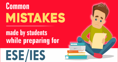 Common mistakes made by students while preparing for ESE