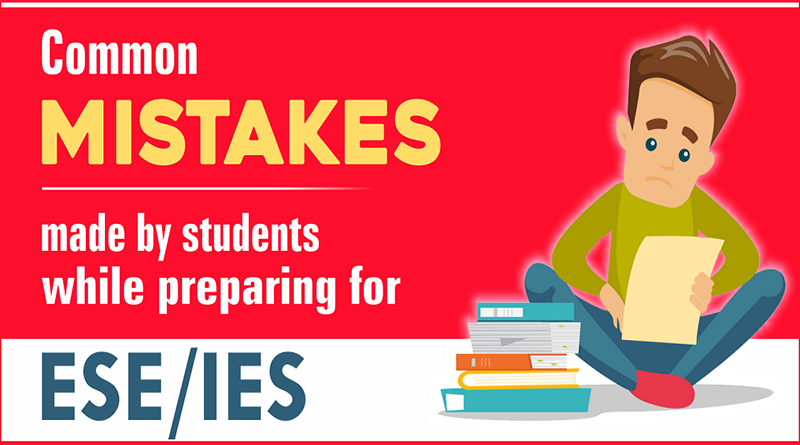Common mistakes made by students