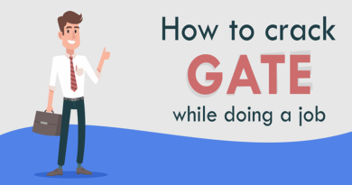 How to crack GATE while doing a job