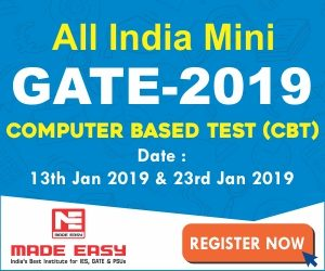 GATE 2019 Mock Test