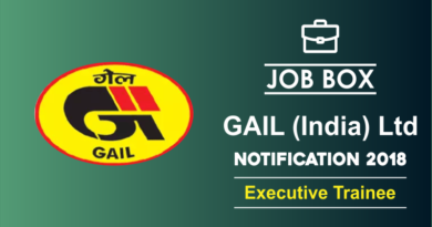 GAIL Notification