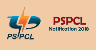 PSPCL Recruitment 2018 - Puniab State Power Corporation Ltd