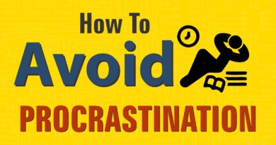 How to Avoid Procrastination
