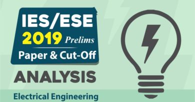 IES/ESE 2019 Prelims PAPER and CUT-OFF Analysis Electrical Engineering