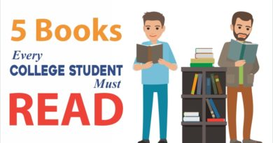 5 Books Every College Student Must Read