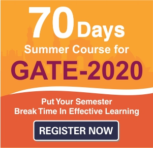 70 Days Summer GATE Course - Delhi and Hyderabad