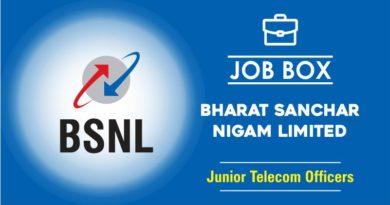 Junior Telecom Officers