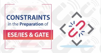 Constraints in the Preparation of ESE/IES and GATE