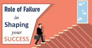 Role of Failure in Shaping your Success