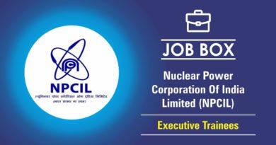 NPCIL Recruitment 2018-19