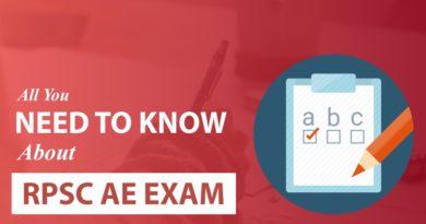 RPSC AE Exam