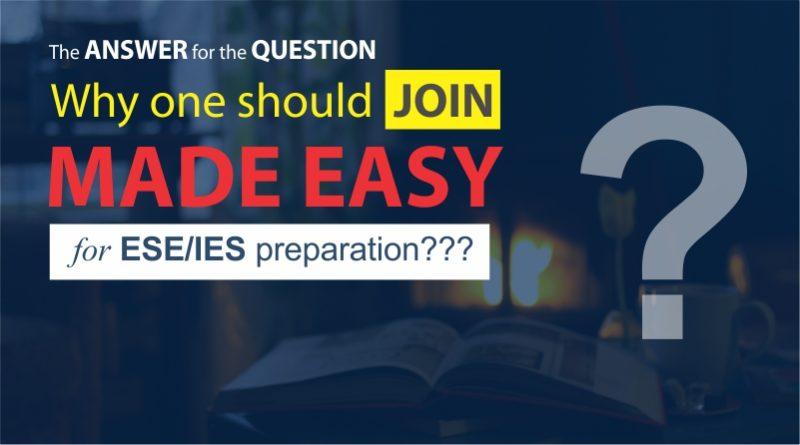 ESE/IES preparation