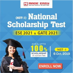 National Scholarship Test for ESE 2021 and GATE 2021