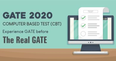 GATE Exam - CBT Mock Test