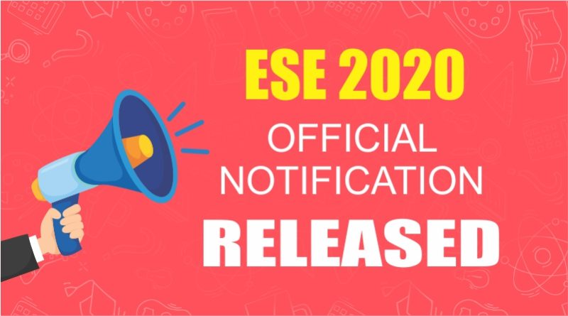 UPSC ESE(IES) 2020 Notification