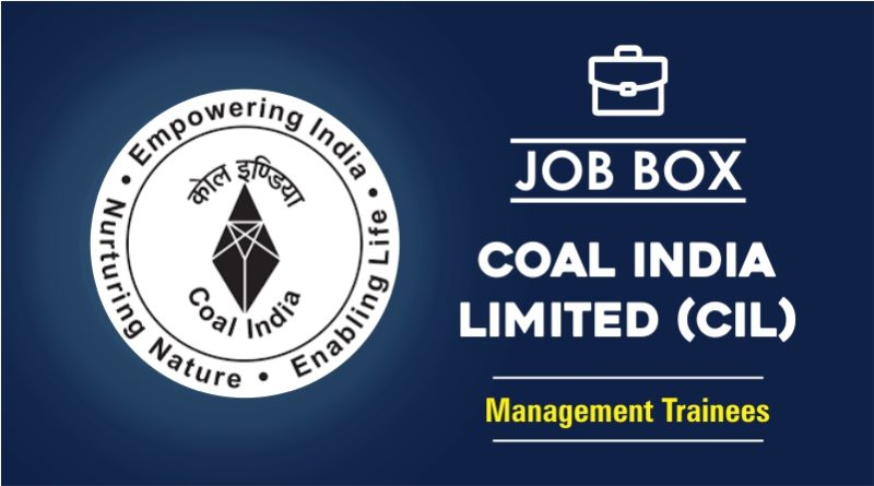 Coal India Recruitment 2020