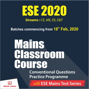 ESE 2020 Mains Classroom Course