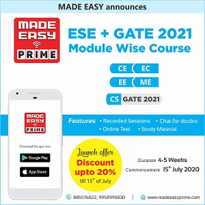 ESE and GATE 2021 Module Wise Course