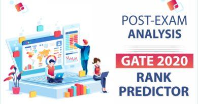 GATE 2020 Rank Predictor